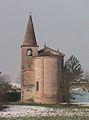 Casalmaggiore - Vicobellignano - Chiesa di Santa Maria dell' Argine - Abside e Torre Campanaria.JPG