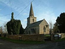 St. Peters church, Cassington
