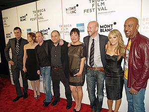 War, Inc. - Cast and crew at the Tribeca Film Festival premiere.