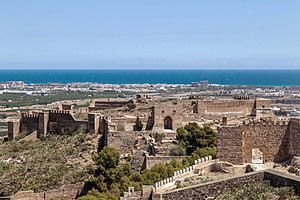 Sagunto Castle - View across the walls of Sagunto Castle