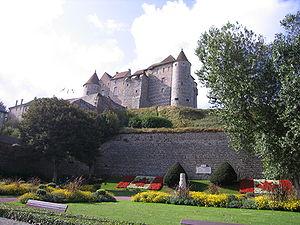 Château de Dieppe - Image: Castle Dieppe