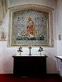 Castle Hedingham, St Nicholas' Church, Essex England, south aisle side chapel.jpg