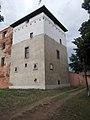 Castle of Kisvárda, SE tower, 2017 Kisvárda.jpg