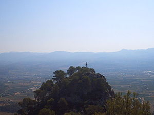 227th Mixed Brigade (Spain) - View of Mount Picossa where the 227th MB camped during the northbound withdrawal that followed the bloodbath of the Battle of the Ebro
