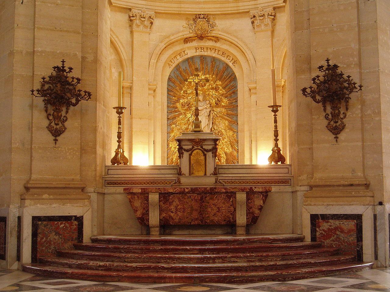 File Cathedrale Saint Louis Versailles Tabernacle Jpg