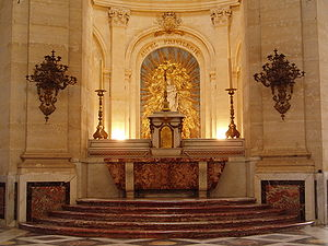 Church tabernacle - Tabernacle at Cathédrale Saint Louis de Versailles