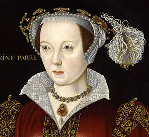 Crop of Catherine Parr, by unknown artist. See...