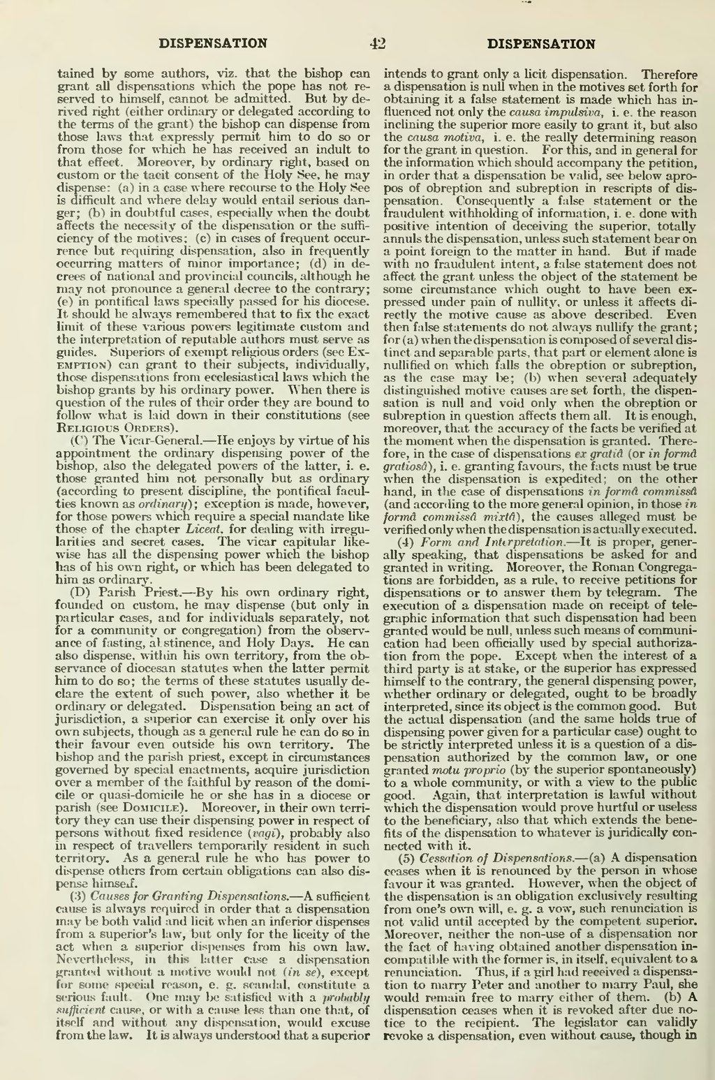 Page:Catholic Encyclopedia, volume 5 djvu/66 - Wikisource, the free