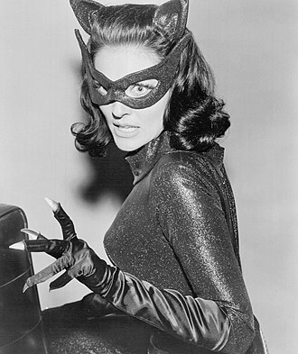 Lee Meriwether - Lee Meriwether acted as Catwoman in the film (pictured) Batman, replacing Julie Newmar, the usual actress for Catwoman in the television series.