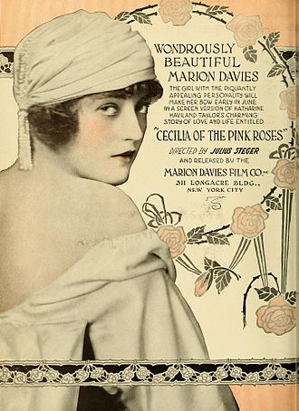Cecilia of the Pink Roses - Advertisement for film.