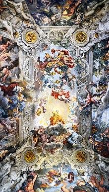 Il trionfo della Divina Provvidenza, Palazzo Barberini, Roma