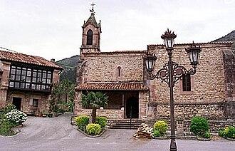 Celis, Spain - Image: Celis Iglesia de San Pedro