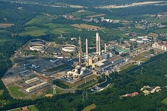Turbigo - The thermal power station Turbigo