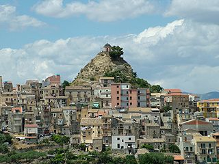 Centuripe Comune in Sicily, Italy