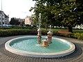 Ceramic fountain, Hősök Square, 2017 Nyíregyháza.jpg