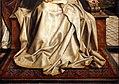 Cerchia di quentin metsys, madonna col bambino e un angelo, 1510-20 ca. 02 tappeto.jpg