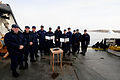 Ceremony on board the Juniper during Operation Nanook 2012, 120830-G-NB914-010.JPG
