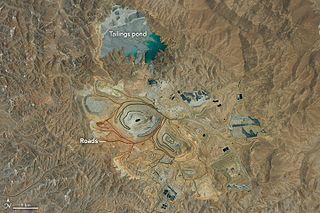 Cerro Verde mine mine in Peru