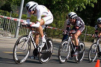 Cervélo TestTeam - Team time trial at the 2009 Tour de Romandie