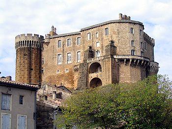 Castillo de Suze-la-Rousse