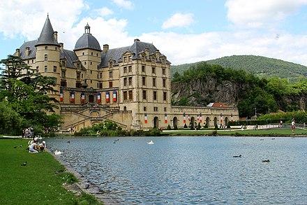 Chateau de Vizille, Isere, France  № 156839  скачать