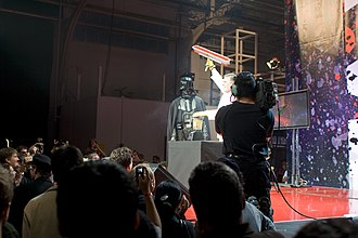 Chad Vader: Day Shift Manager - Yonda in character as Chad Vader at YouTube Live in 2008