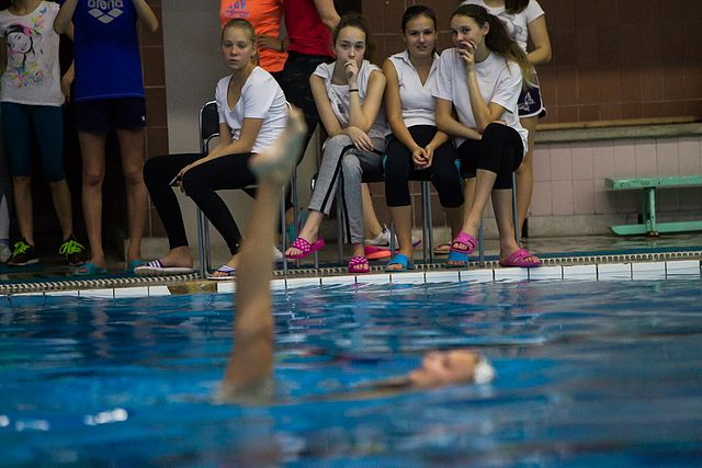 Championship of the North-West Federal District in synchronized swimming (2016-10-20) 19.jpg
