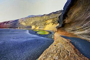 Timanfaya National Park - Image: Charco de los Ciclos. Lanzarote