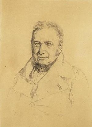 Charles-Henri Delacroix - Portrait by his brother, Eugène Delacroix