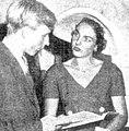Charles Benyon Lloyd Jones and Edwina Hordern at French Painting Today, Sydney 1953.JPG