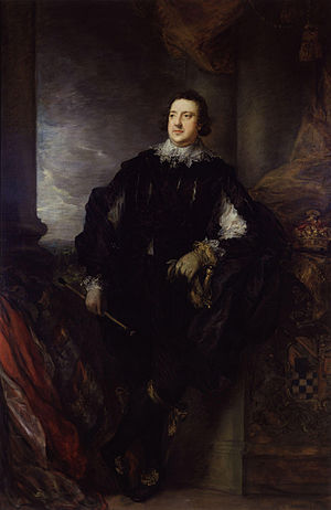 Charles Howard, 11th Duke of Norfolk - Painting by Thomas Gainsborough.
