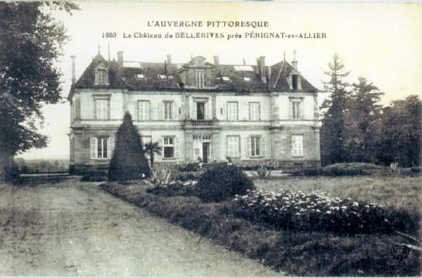 Chateau de Bellerive, Perignat