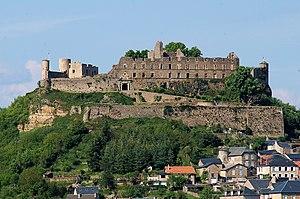 Sévérac-le-Château - The Château of Sévérac-le-Château
