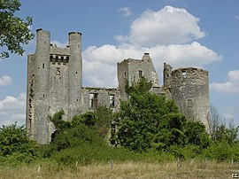 Ruins of the Chateau of Passy-les-Tours