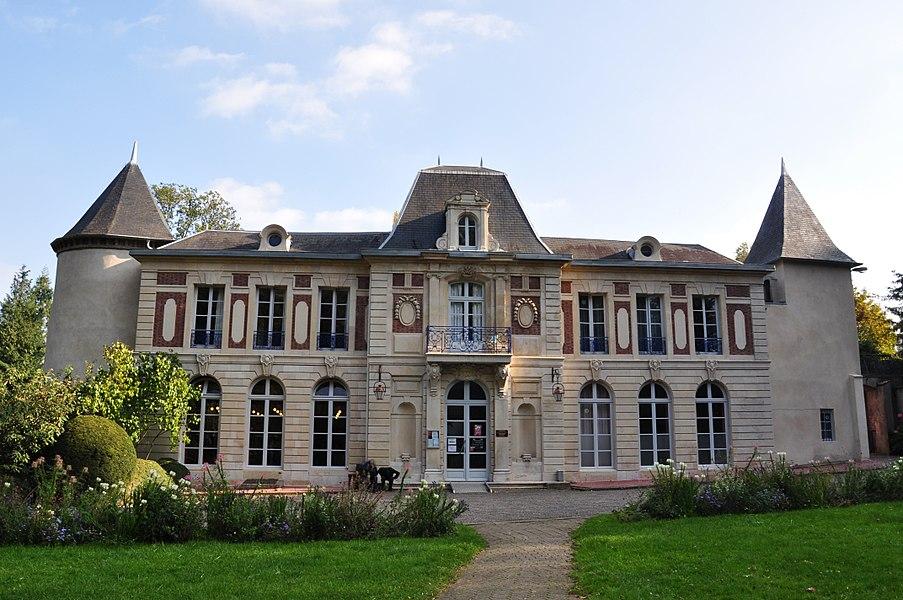 Château de Remicourt, à Villers-lès-Nancy en Meurthe-et-Moselle