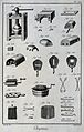 Chemistry; various implements. Engraving by Defehrt after Go Wellcome V0025483EL.jpg