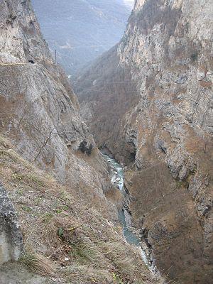 Cherek River - Cherek Narrows