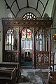 Cheriton Bishop, rood screen, St Mary's church - geograph.org.uk - 991652.jpg