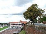 Chester City Walls and racecourse.jpg