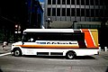 """Chicago (ILL) downtown, S. Dearborn St., bus """" the free entreprise system """" (4826070053).jpg"""