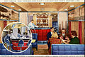 Chicago and North Western Railway 400 liner lounge car circa 1940s.JPG