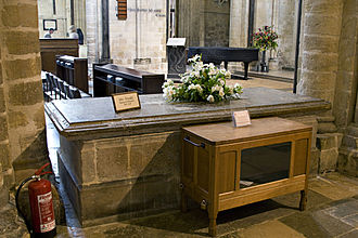 John Arundel (bishop of Chichester) - Arundel's tomb within Chichester Cathedral