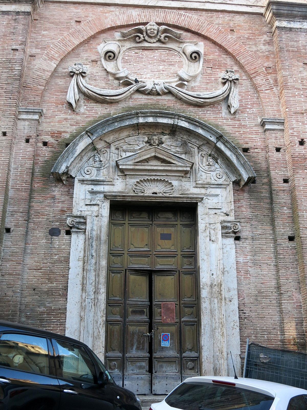 File chiesa di sant 39 antonio abate rieti portale 01 jpg for Arredo bimbo sant antonio abate