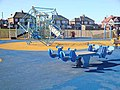 Children's playground on Seaton Sluice Beach - geograph.org.uk - 1734629.jpg