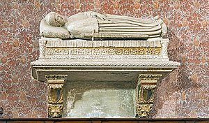 Marco Cornaro - His tomb  in  Basilica of San Zanipolo