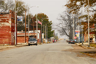 Luxora, Arkansas City in Arkansas, United States