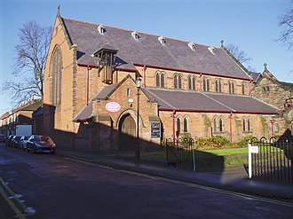 Christ Church, Chester - Image: Christ Church, Chester geograph.org.uk 1068131
