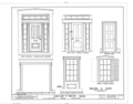Christian F. Philips House, 120 Saint James Street, Kingston, Ulster County, NY HABS NY,56-KING,18- (sheet 9 of 9).png