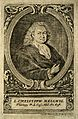 Christoph von Hellwig. Line engraving by J. Petros, 1713. Wellcome V0002671.jpg