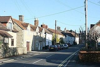 Hilperton village in United Kingdom